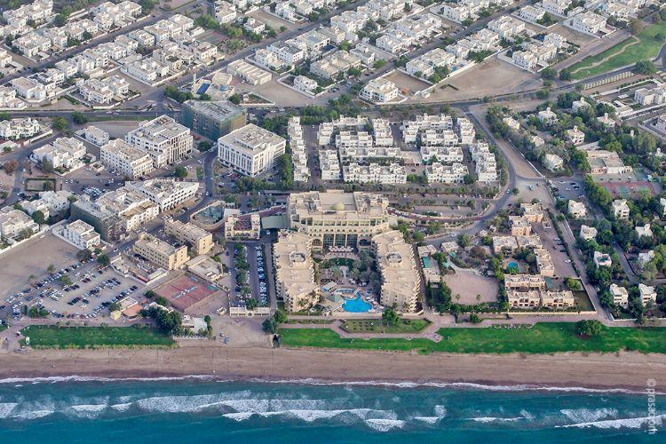 Grand Hyatt Aerial View