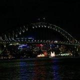 Harbour Bridge Night View, Sydney