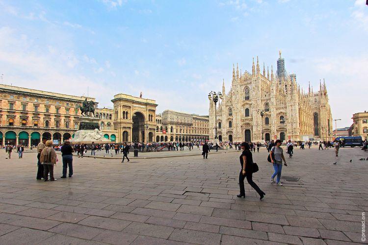 The Duomo of Milan.