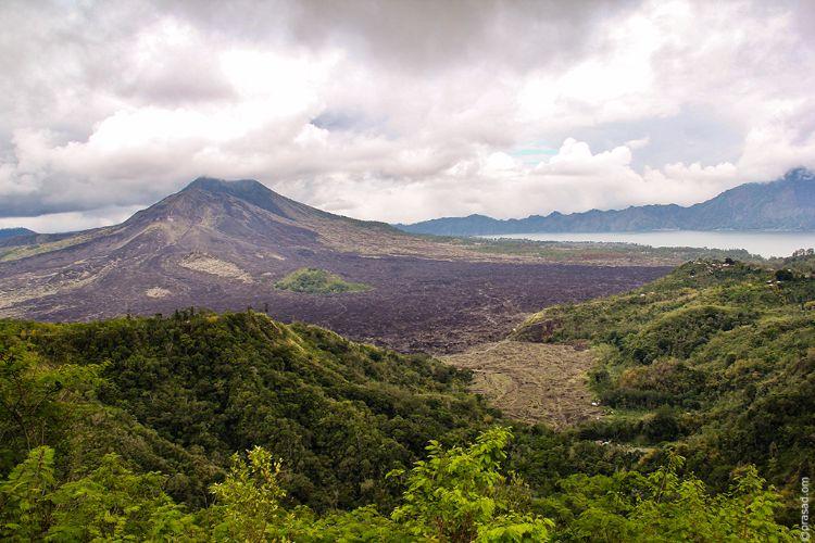 Kintamani Volcano and Lake Batur