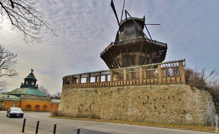 Windmill in Berlin