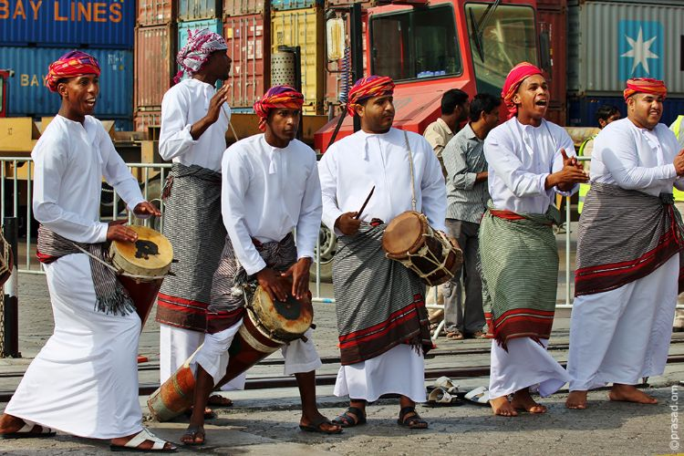 Omani Traditional Performers