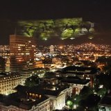 Table Mountain Night View, Cape Town