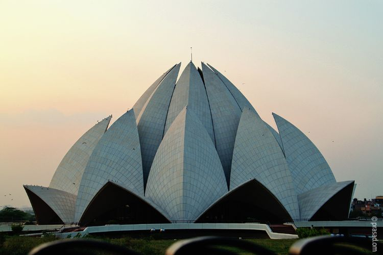 Lotus Temple, Delhi, India