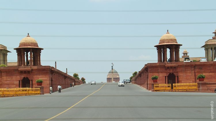 Parliament House Area, Delhi, India