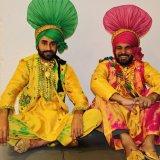 Sardars in costumes