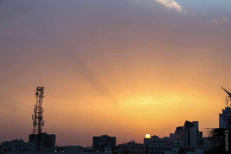 Sunset at Bahrain