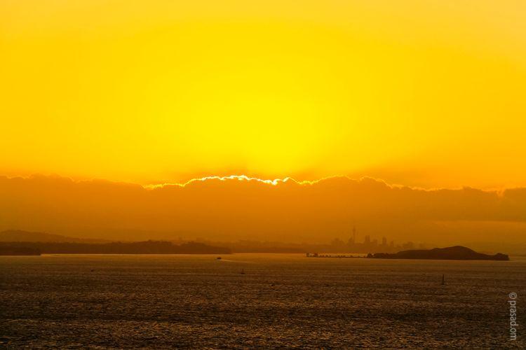 Sunset at Waiheke Island, Auckland
