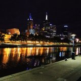 Yara River Melbourne Night View