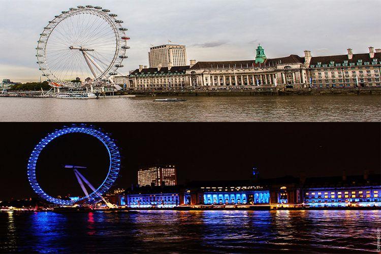Coca-Cola London Eye Day & Night