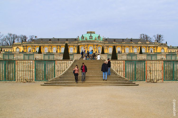 Sanssouci castle, Berlin