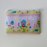 House on the Hill makeup bag