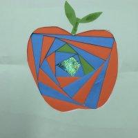 Apple - Iris folding technique