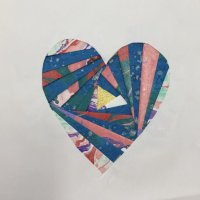 Heart - Iris folding techniques