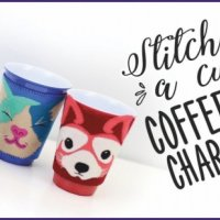 Coffee cup characters