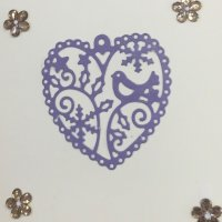 Cut-Out hearts card
