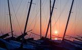 Masts At Sunset Code MS