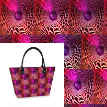 Red Web multi Tote bag