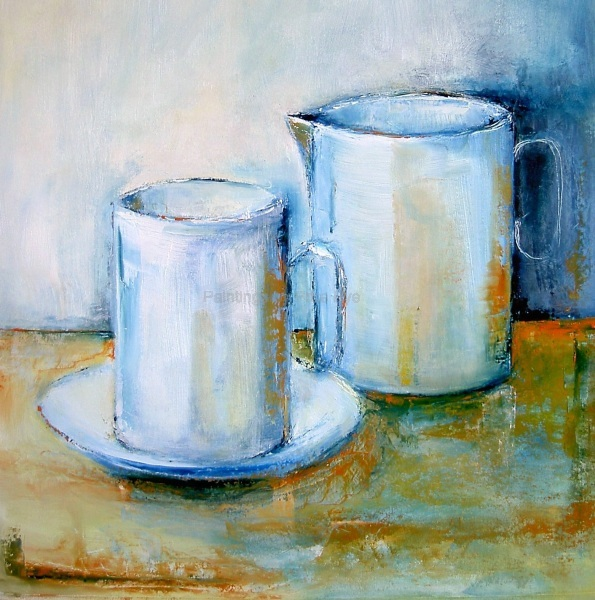 Cup and Jug II      SOLD