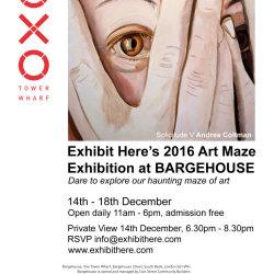 Exhibit Here Art Maze Exhibition