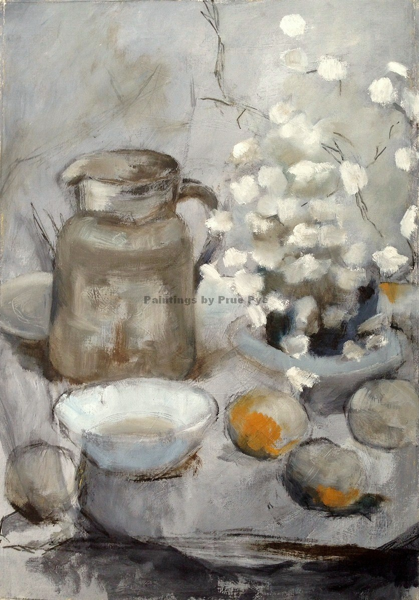 Still Life with Jug and Citrus - SOLD
