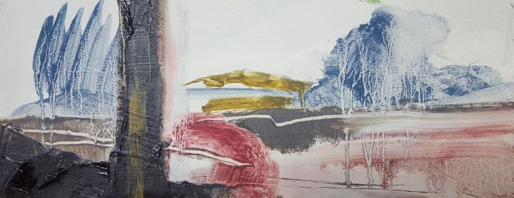 Tree landscape study I 380 x 150