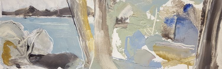 Tree landscape study IV  460x150