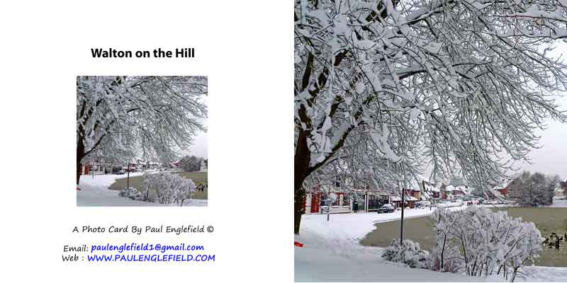 Winter in Walton on the Hill