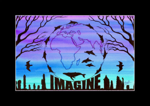 'IMAGINE A WORLD WITHOUT ....'