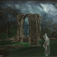 Ghost of Neath Abbey Ruins