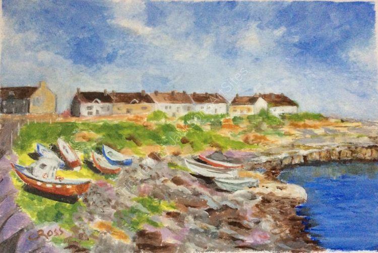 Northumberland Coastal Scene