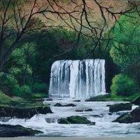 Sgwyd er Eira Waterfall