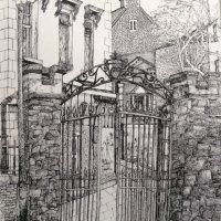 St. Thomas Church Gate, 1978