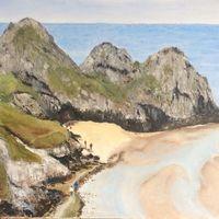 Three Cliffs Bay, Gower, South Wales
