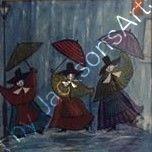 Welsh Ladies Singing in the Rain