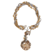 Goat Jade Pendant Chameleon Necklace £1,000
