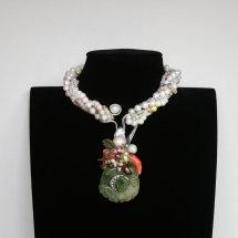 Bespoke Chameleon Necklace £4,600