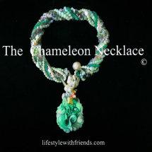 Chameleon Necklace Prototype