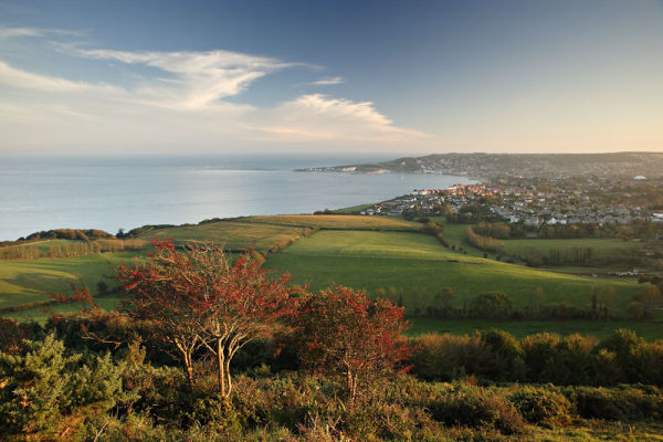 Swanage from Ballard Down