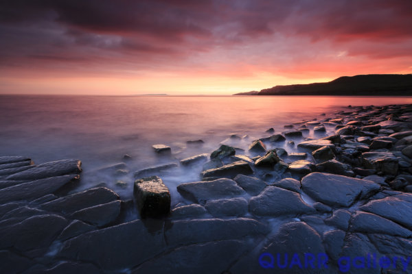 A Summer's Evening, Kimmeridge Bay