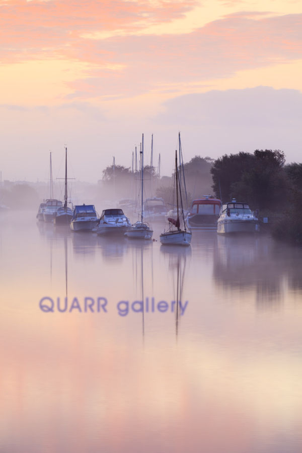 A Misty Morning, Wareham Quay