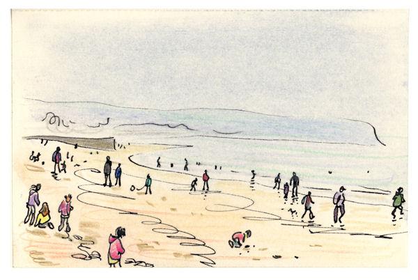 Damp Sand