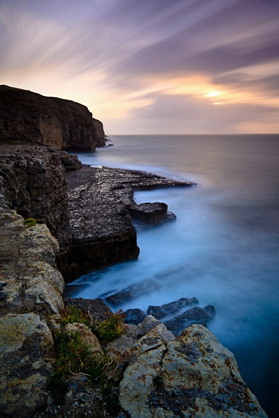 Daybreak, Dancing Ledge