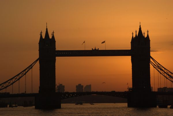 Golden Light, Tower Bridge