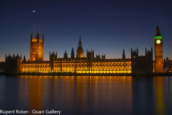Golden Twilight, Palace of Westminster