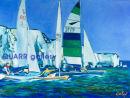 Boat Race, Old Harry Rocks