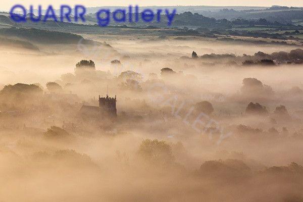 Misty Morning, Corfe