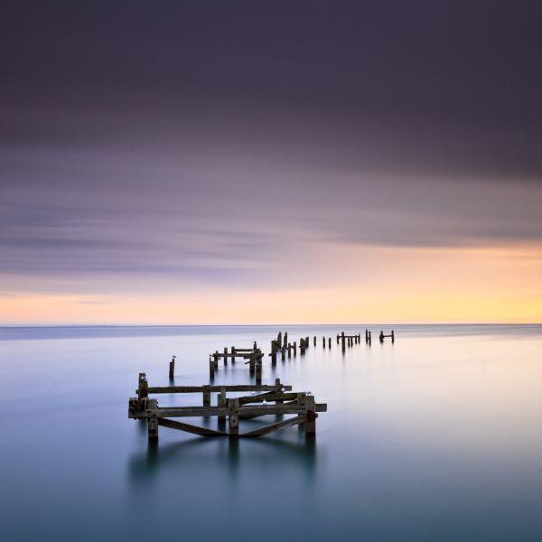 Dawn, Swanage Old Pier