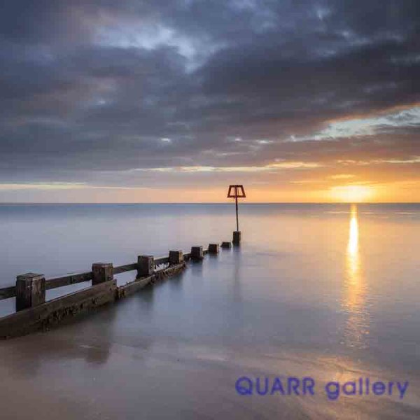 Autumn Sunrise, Swanage Bay