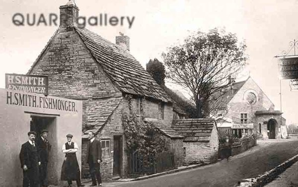 Station Road and the Old Mowlem (c1910)